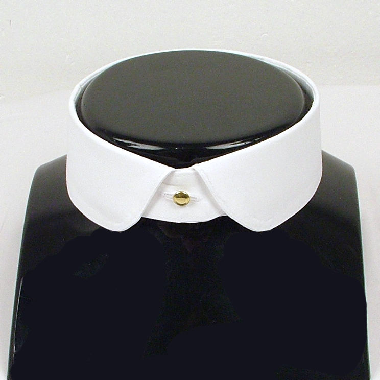 Eton detachable collar rounded point