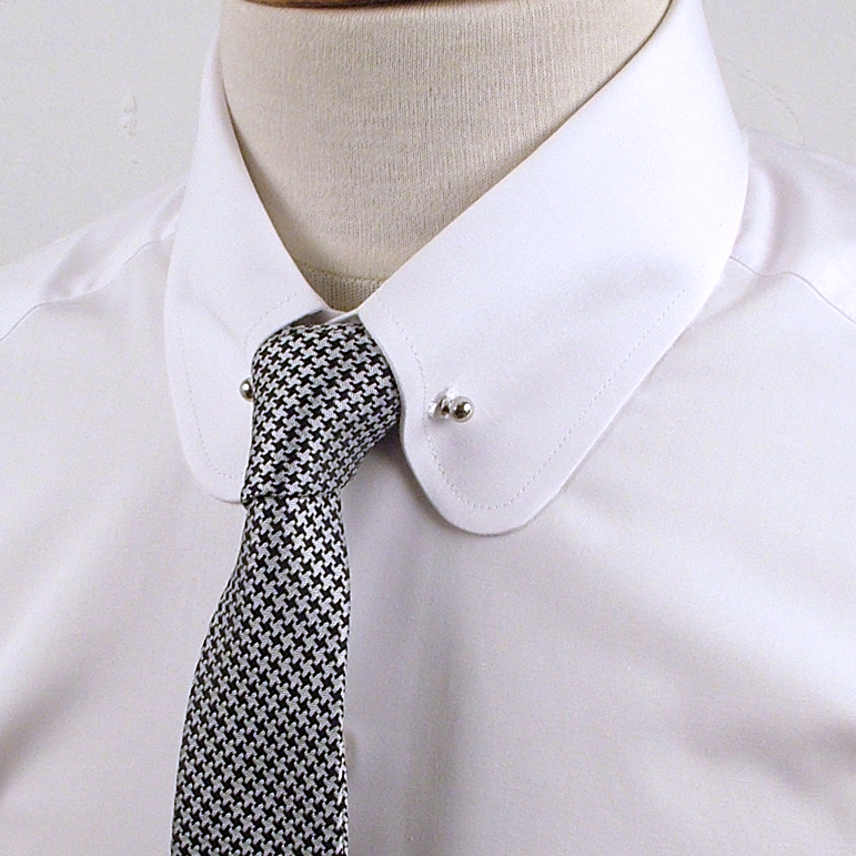 Collar Pins For Men Screw Ends For Shirts With Holes In